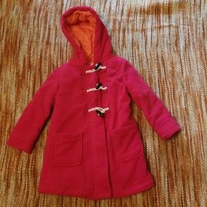 Old Navy Jackets & Coats - Girls 5 old navy pink pea coat